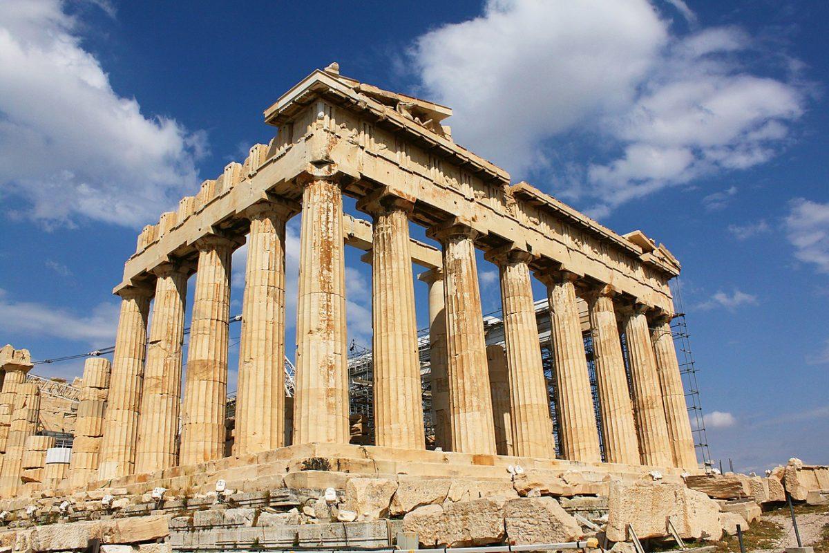 Athény zpáteční letenky za 678 Kč