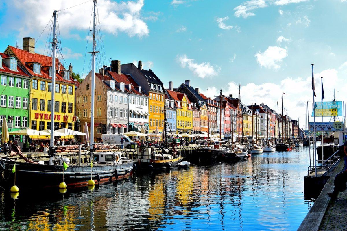 Kodaň zpáteční letenky za 518 Kč