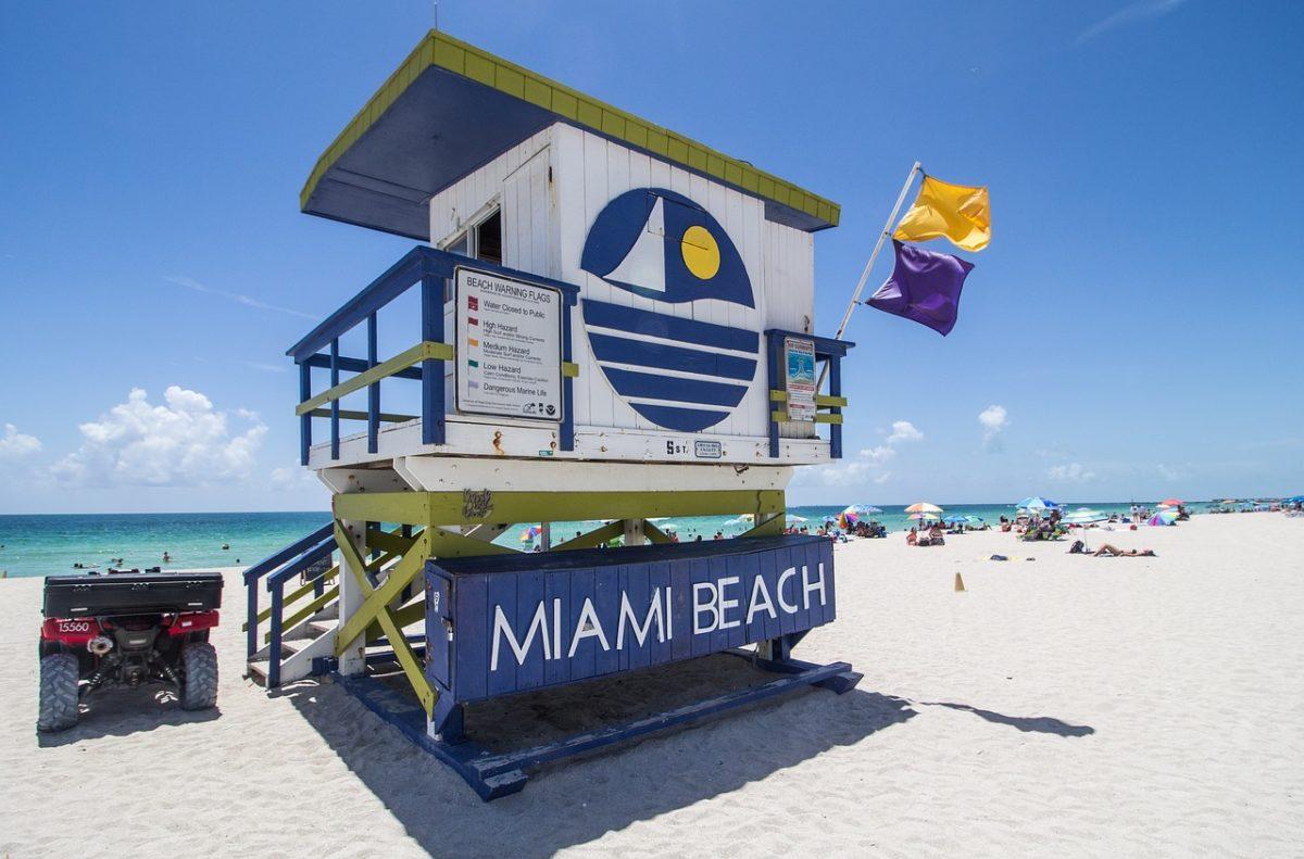 Miami zpáteční letenky za 9.790 Kč