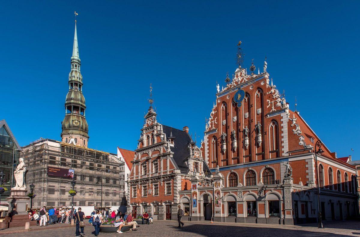 Riga zpáteční letenky za 518 Kč