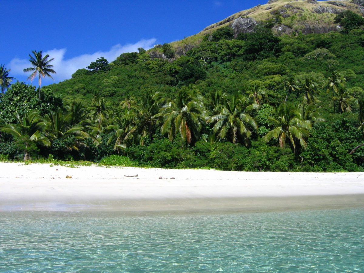 Fiji zpáteční letenky za 21.990 Kč
