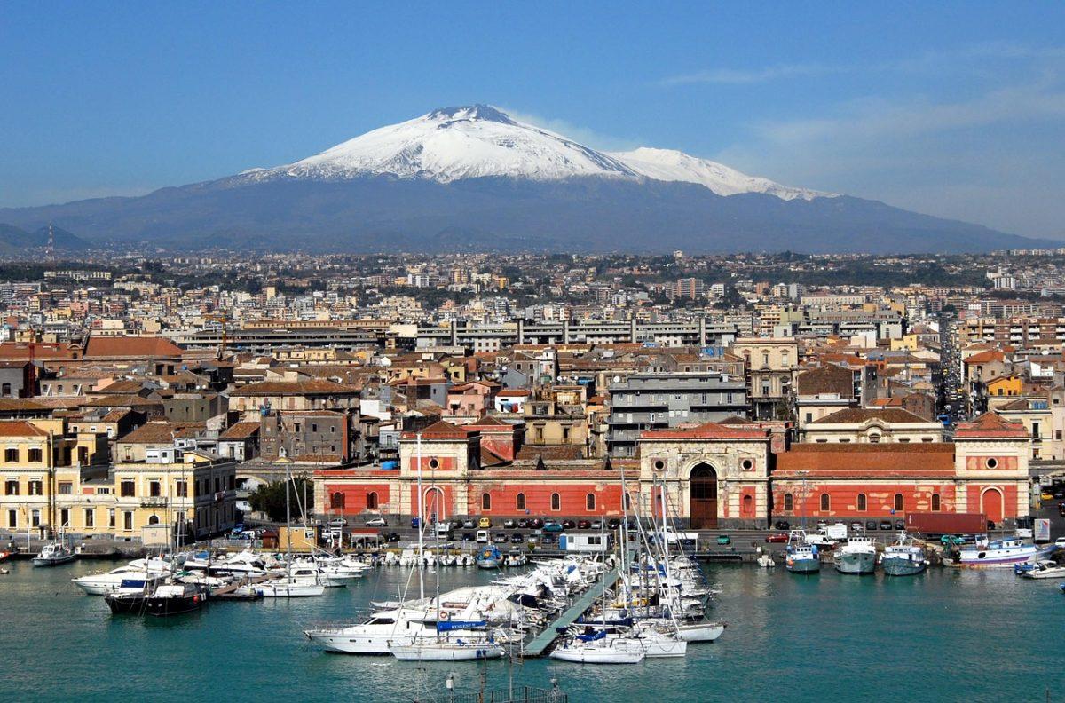Sicílie zpáteční letenky za 504 Kč