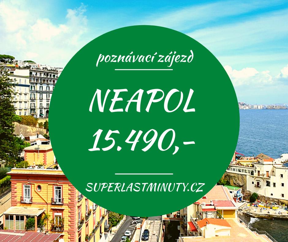 To nejlepší z Neapole + POMPEJE + CAPRI za 15.490 Kč