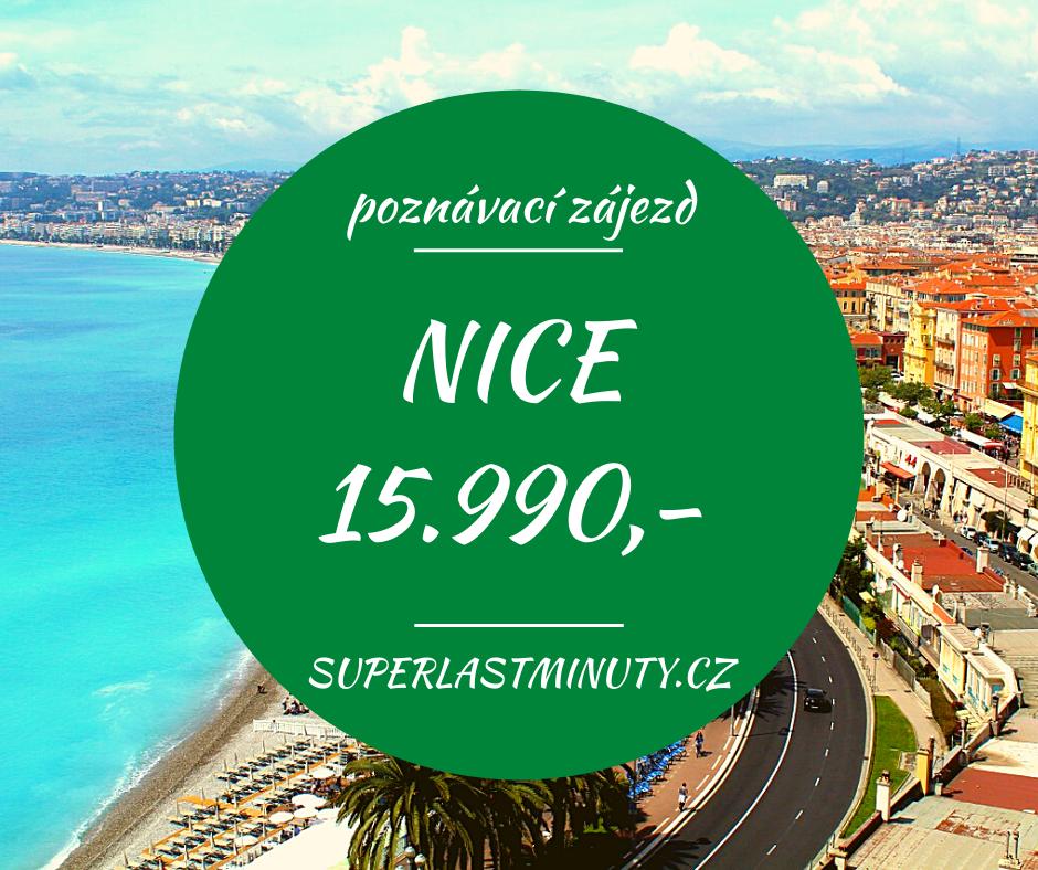 To nejkrásnější z Nice + AZUROVÉ POBŘEŽÍ za 15.990 Kč