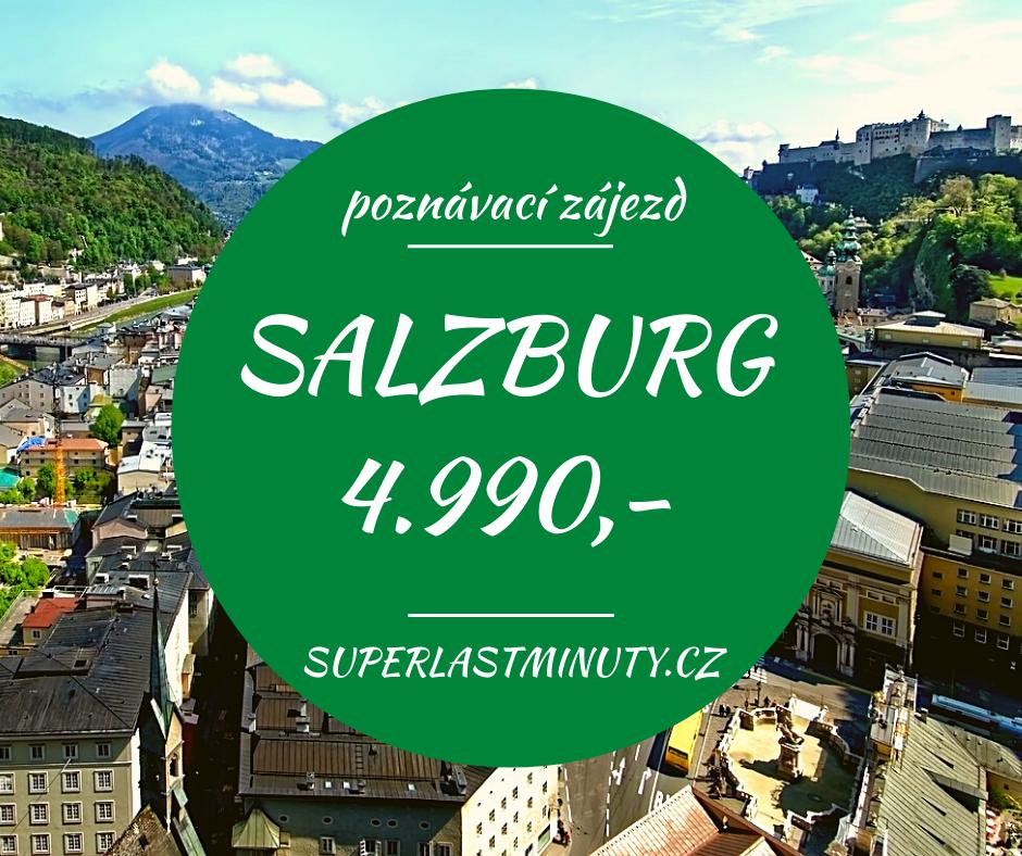 To nejlepší ze Salzburgu + ORLÍ HNÍZDO + KÖNIGSSEE za 4.990 Kč