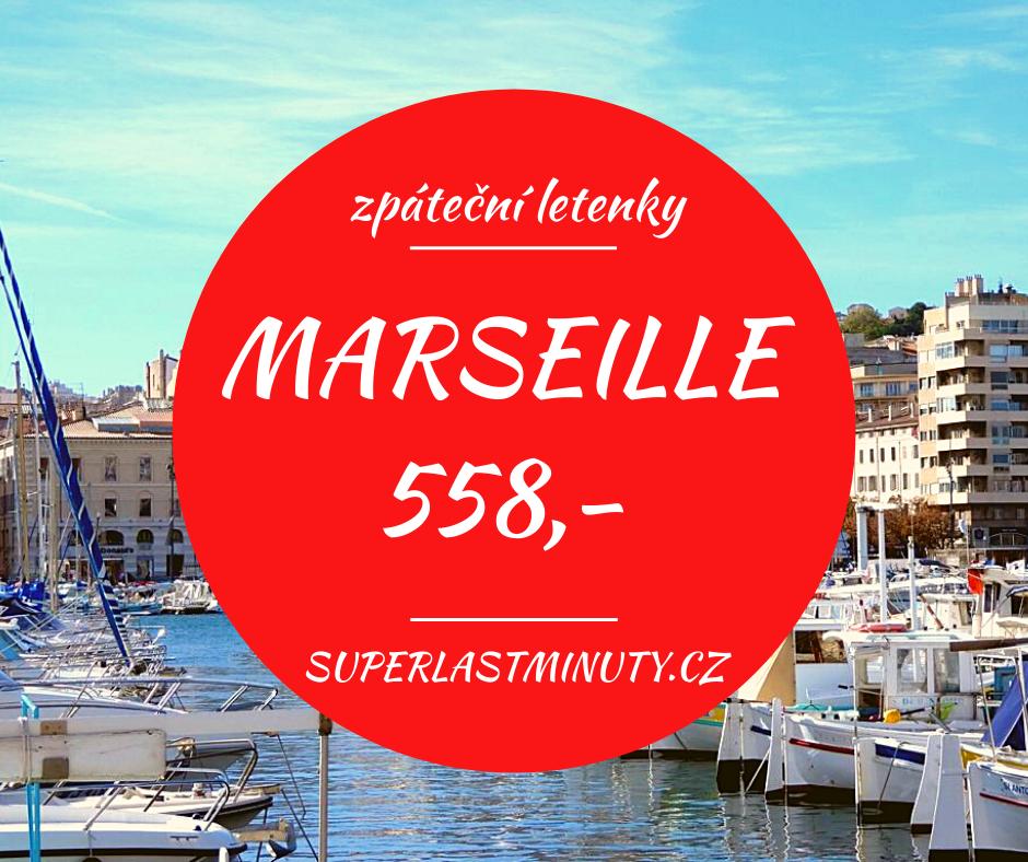 Akční letenky – Marseille od 558 Kč