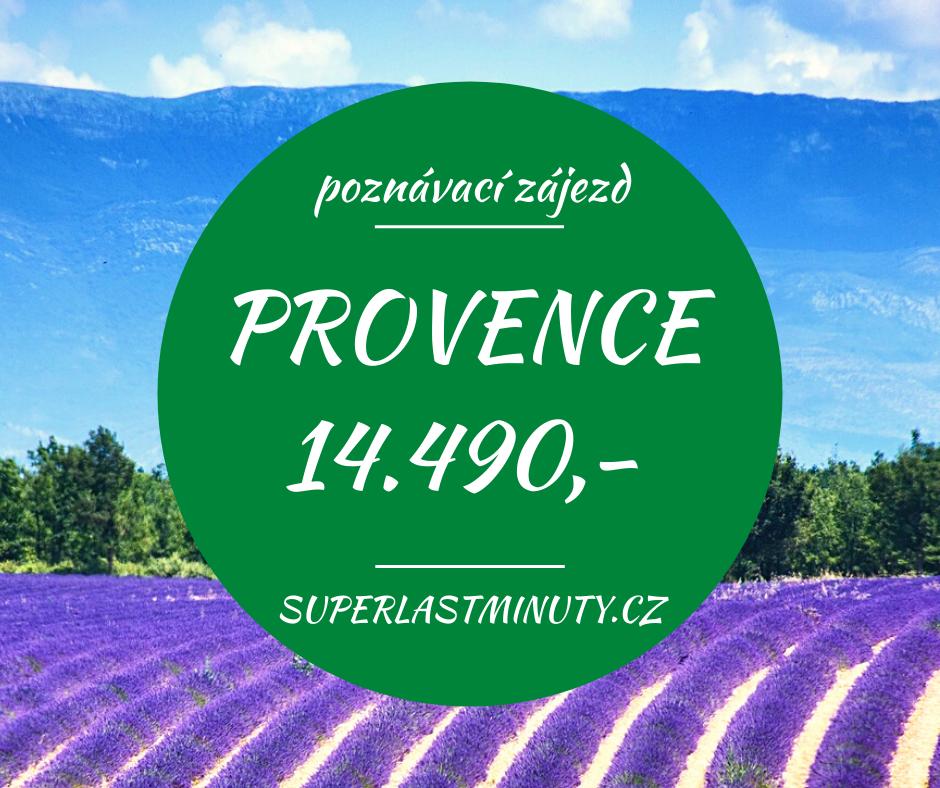 To nejkrásnější z Provence + MONAKO za 14.490 Kč