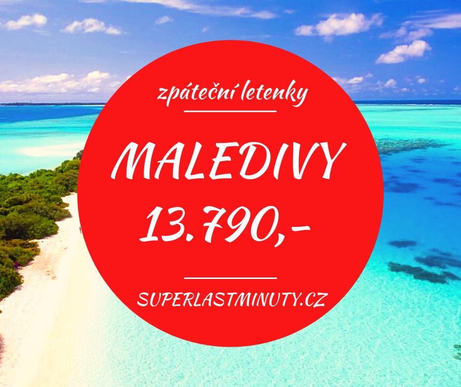Akční letenky – Maledivy od 13.790 Kč
