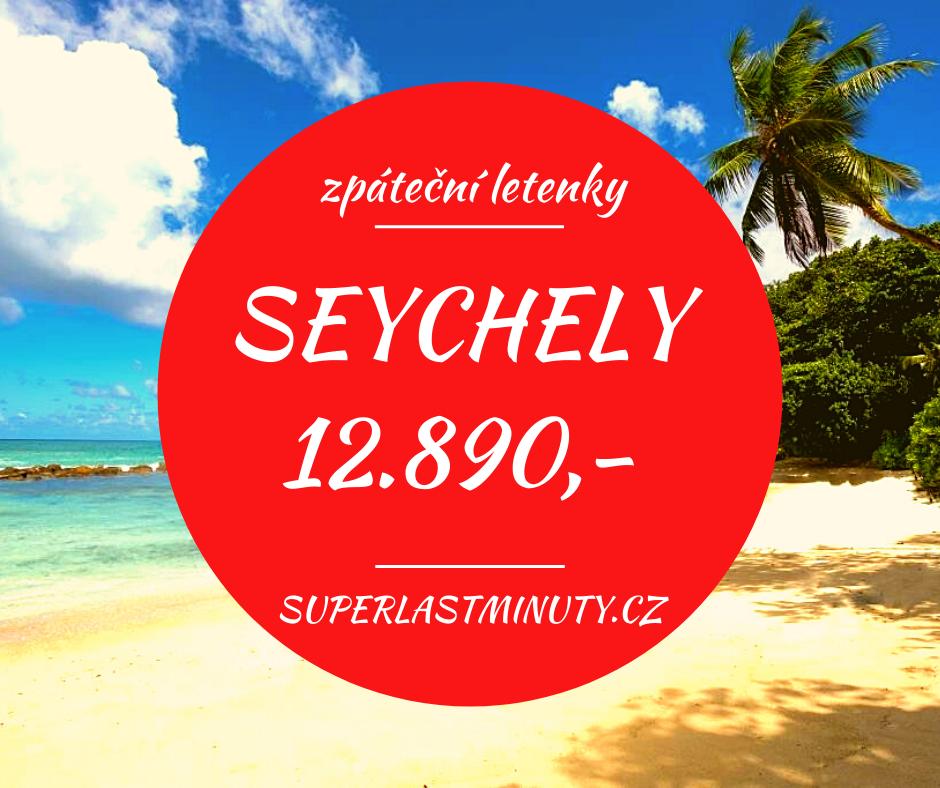 Akční letenky – Seychely od 12.890 Kč