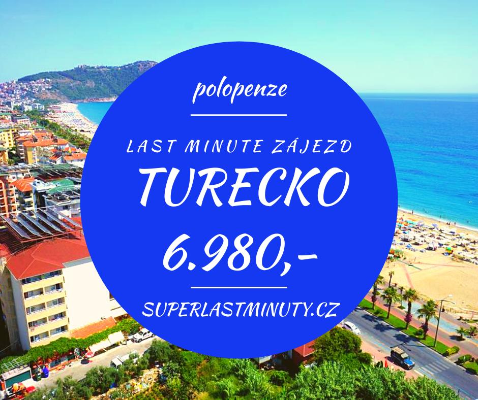 Sleva 42% – Turecko, polopenze, 8 dní za 6.980 Kč
