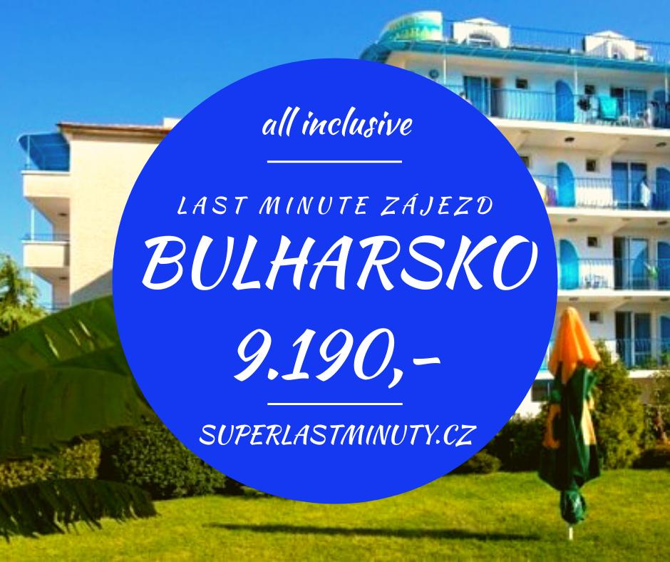 Sleva 53% – Bulharsko, all inclusive, 11 dní za 9.190 Kč