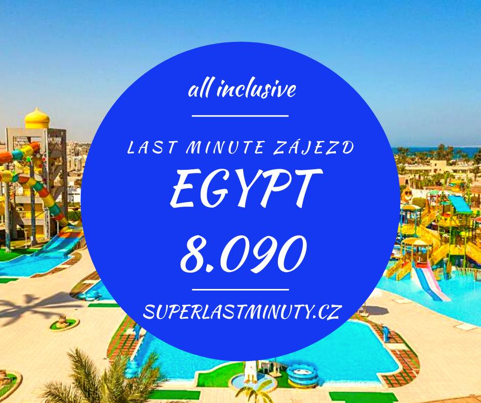 Sleva 52% – Egypt, all inclusive, 8 dní za 8.090 Kč