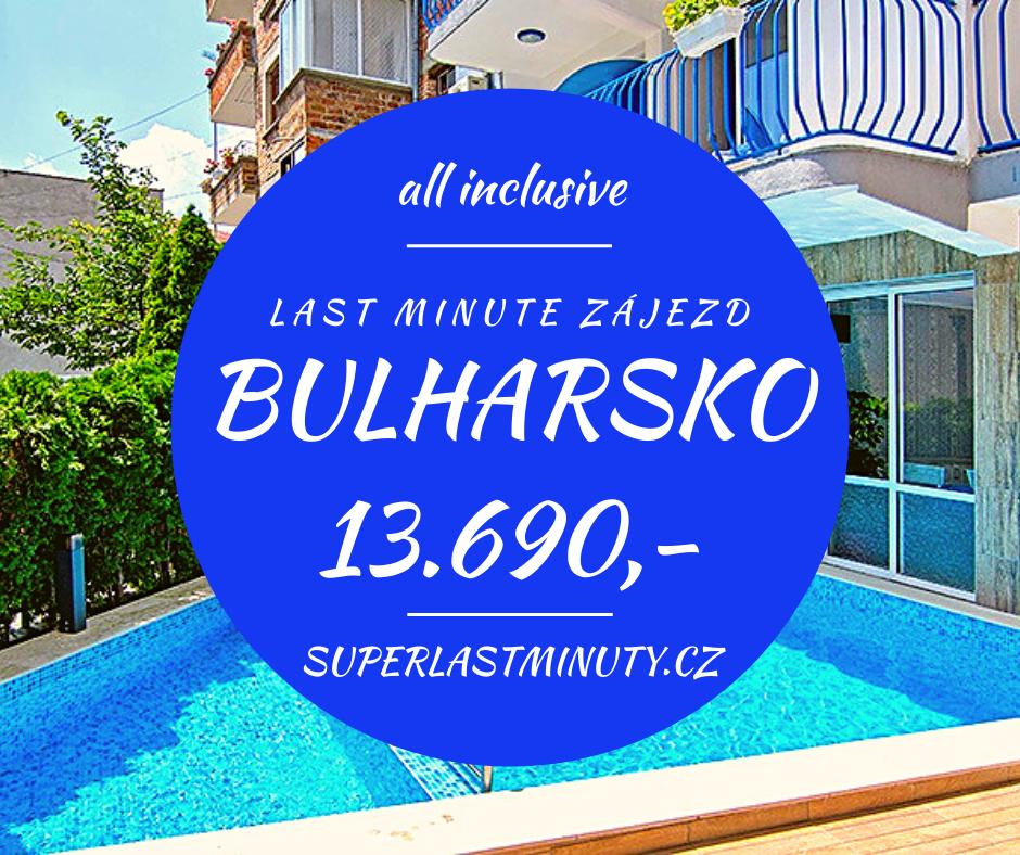 Sleva 28% – Bulharsko, all inclusive, 10 dní za 13.690 Kč