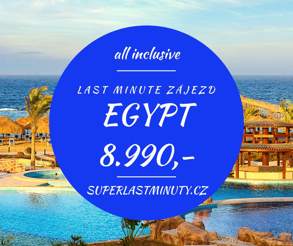 Sleva 44% – Egypt, all inclusive, 8 dní za 8.990 Kč