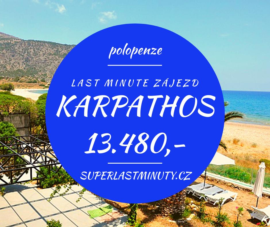 Sleva 39% – Karpathos, polopenze, 8 dní za 13.480 Kč