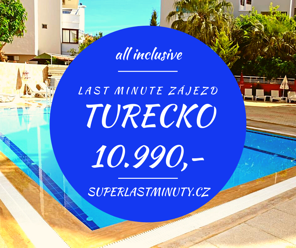 Sleva 27% – Turecko, all inclusive, 12 dní za 10.990 Kč